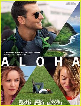 Emma Stone's 'Aloha' Poster Hits the Web!