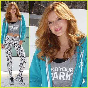 Bella Thorne Kicks Off 'Find Your Park' Movement in Manhattan