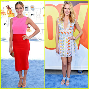 Brittany Snow & Anna Camp Hit the MTV Movie Awards 2015 Red Carpet!