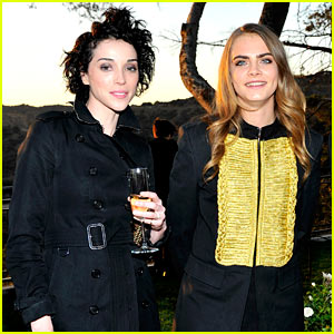 Cara Delevingne Attends First Official Event with Rumored Girlfriend St. Vincent