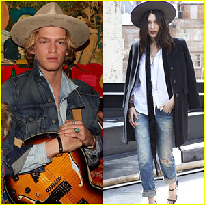 Cody Simpson & Bella Hadid Are a Denim Dream for Ralph Lauren
