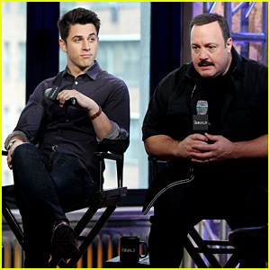 David Henrie Promotes Two Films in One Day in New York City!