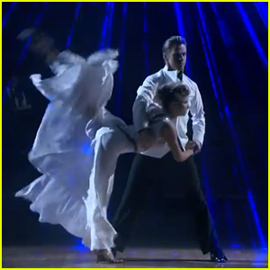 Nastia Liukin & Derek Hough Tango Into Our Hearts For 'Dancing With the Stars' - Watch Now!