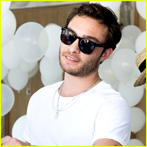 Ed Westwick Hits Kit & Ace Launch at Coachella