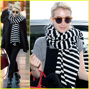 Emma Roberts Flies to New York to Begin Working on 'Nerve'