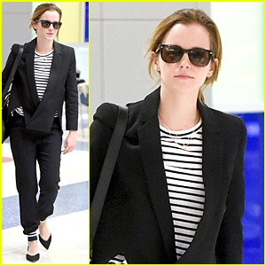 Emma Watson Jets to NYC After Turning 25