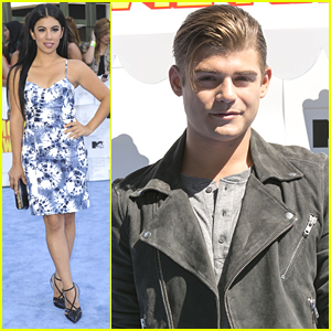 Chrissie Fit & Garrett Clayton Bring 'Teen Beach 2' MTV Movie Awards 2015