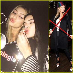 Kendall Jenner Helps Gigi Hadid Celebrate 20th Birthday in New York!