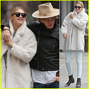 Gigi Hadid & Cody Simpson Hold Hands During Romantic NYC Stroll