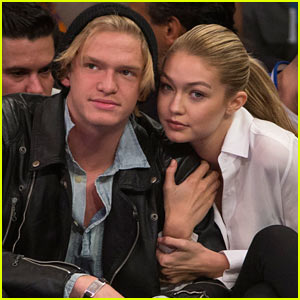 Cody Simpson Shares Cute Courtside Moment with Gigi Hadid!