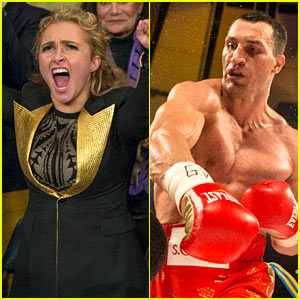 Hayden Panettiere Cheered on Wladimir Klitschko to Victory This Weekend!