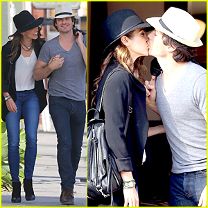Ian Somerhalder & Nikki Reed Let the Sparks Fly in Venice