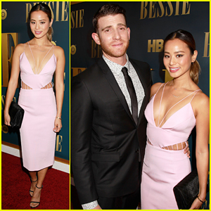 Jamie Chung Supports Her Fiance Bryan Greenberg at 'Bessie' New York Premiere!