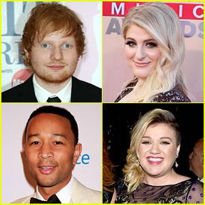 Ed Sheeran & Meghan Trainor Announced as Billboard Music Awards 2015 Performers