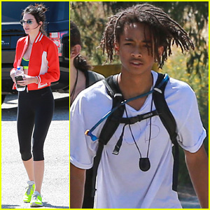 Kendall Jenner Goes Hiking in Malibu With Jaden Smith & Friends