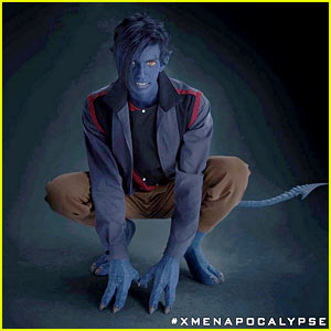 Kodi Smit-McPhee Goes Blue as X-Men's Nighcrawler - First Photo!