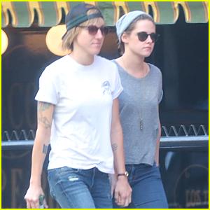 Kristen Stewart & Alicia Cargile Walk Hand in Hand in Los Angeles