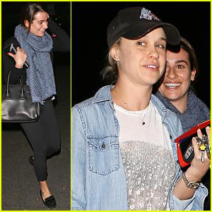 Lea Michele & Becca Tobin Have 'Glee' Reunion at Sugarfish
