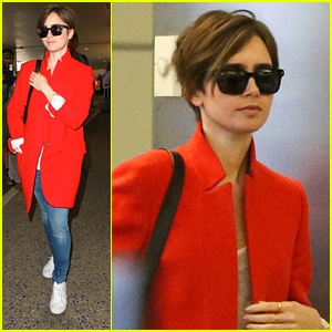 Lily Collins Sends Birthday Wishes To Mom Jill