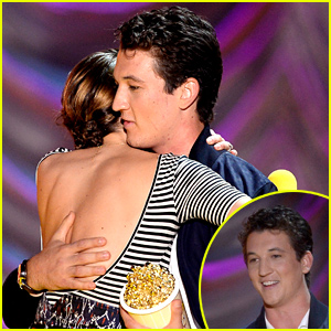Miles Teller Gives Shailene Woodley an Amazing Introduction at MTV Movie Awards 2015 - Watch Now
