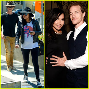 Naya Rivera's Baby Bump Gets Held by Ryan Dorsey in This Adorable Pic!