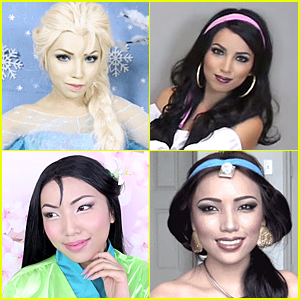 This Woman Teaches Us How to Tranform Into Favorite Disney Characters - Watch Now!