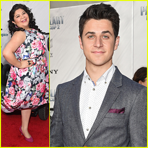 Raini Rodriguez & David Henrie Premiere 'Paul Blart: Mall Cop 2' In New York City