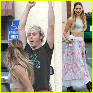 Riker Lynch Keeps Practicing His Paso Doble With Allison Holker