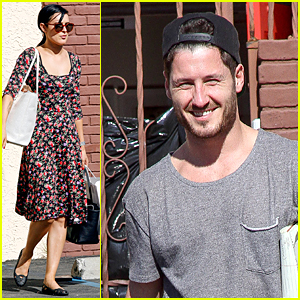 Rumer Willis Made Val Chmerkovskiy Laugh With Her Silly Faces