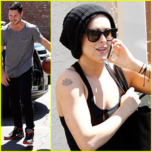 Rumer Willis & Val Chmerkovskiy To Appear on 'Ellen' Tomorrow!