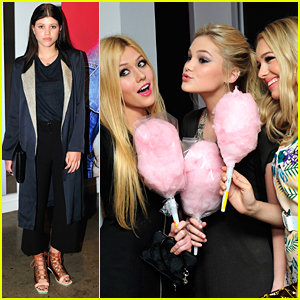 Olivia Holt Joins Sofia Richie To Celebrate 'Popular Magazine' Launch