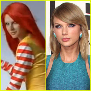 Taylor Swift's Red-Headed Twin Is in This McDonald's Commercial!