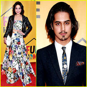 Vanessa Hudgens & Avan Jogia Check Out 'Fun Home' on Broadway