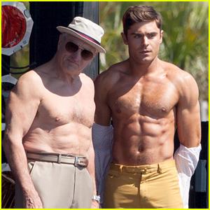 Zac Efron & His Co-Star Robert De Niro Show Their Shirtless Bodies!
