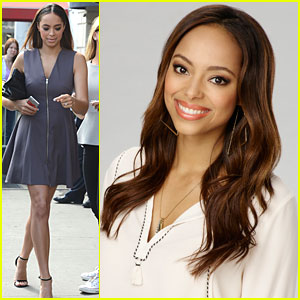 Amber Stevens West Brings 'The Carmichael Show' To NBC Upfronts 2015