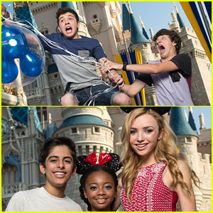 Bradley Steven Perry Almost Flew Away From The 'Coolest Summer Ever' At Walt Disney World!