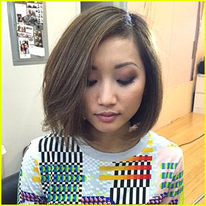 Fantastic Brenda Song Chops Her Hair See Her New Look Brenda Song Short Hairstyles Gunalazisus