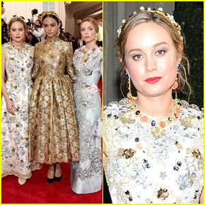 Brie Larson Brings Her Style to Met Gala 2015
