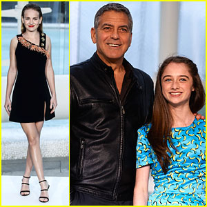 Britt Robertson Calls George Clooney 'So Silly'