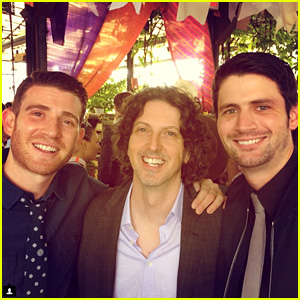 'One Tree Hill' Alums Bryan Greenberg & James Lafferty Reunite for a Good Cause!