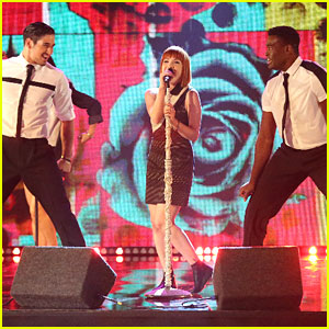 Carly Rae Jepsen 'Really Really Really Like's Dancing With The Stars - Watch Her Performance Here!