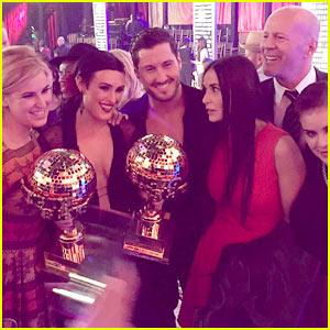 Rumer Willis' Family Celebrates Her 'DWTS' Win!