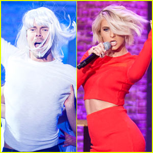 Julianne Hough Defeats Derek on 'Lip Sync Battle'