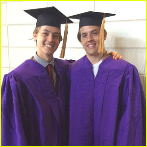 Dylan & Cole Sprouse Graduate With Honors From NYU!