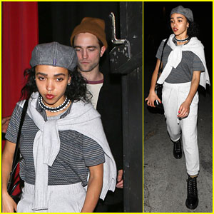 Robert Pattinson & FKA Twigs Couple Up For Nepal Benefit