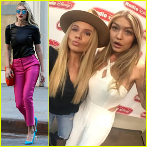 Gigi Hadid & Alli Simpson Sing Along to Jesse McCartney! (Video)