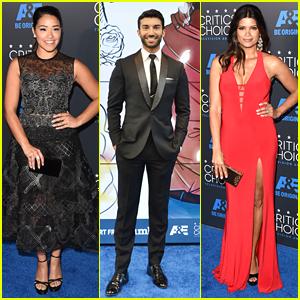 Gina Rodriguez & Andrea Navedo Wow At Critics' Choice Television Awards 2015