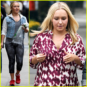 Hayden Panettiere Received a Sweet Gift from Her 'Custody' Co-Worker