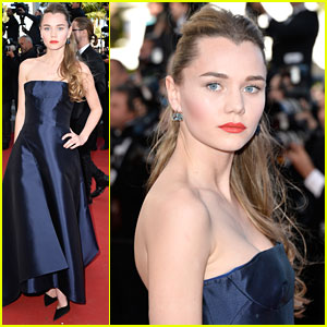 Suki Waterhouses's Sister Immy Turns Heads At 'Youth' Premiere in Cannes