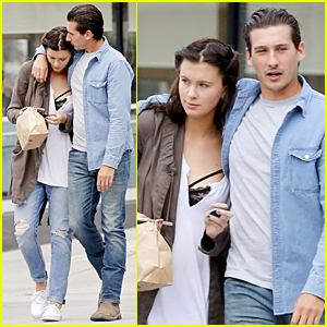 Ireland Baldwin Gets Some Affection From Mystery Guy in Malibu